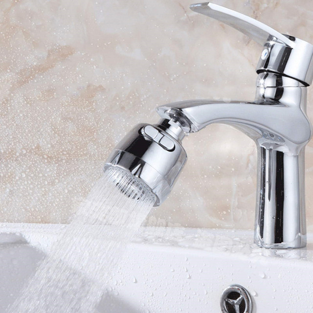 Kitchen Faucet Aerator 360 Swivel Aerator Kitchen Sprayer Water Saving  Aerator Rotating Faucet Aerator Kitchen Accessories