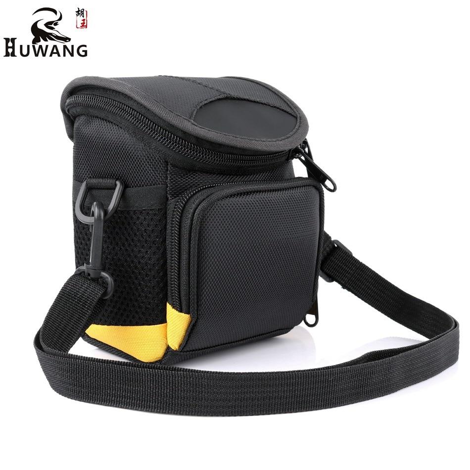 HUWANG 2018 Mini Camera Photo Bag For Fujifilm X100F X70 X30 Panasonic LX100 LX7 GX7 Olympus SH3 SH2 Samsung NX Mini Camera Case