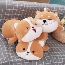 Lovely Dog Short Plush Toy Stuffed Animal Dog Doll Soft Plush Pillow Gifts Send to Children & Friends цена в Москве и Питере
