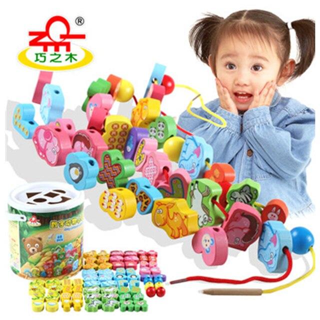 Новое поступление животных из бисера детские развивающие игрушки для мальчиков и девочек ребенка раннего детства резьбы stringsbuilding блоки