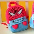 Novos Pequenos Sacos de Escola Aranha Mochilas Mochilas De Pelúcia Crianças Presente de Natal de Alta Qualidade Homem-Aranha Herói