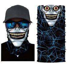 3D Железный человек Бэтмен Скелет бесшовная Волшебная Шея Велоспорт Мотоцикл голова грелка маска для лица Лыжная Балаклава головная повязка труба шарф#30