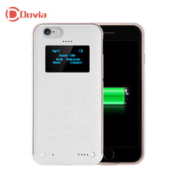 SOYES P6 Smart Phone 1.3 inch OLED Screen Back Cover Mobile Power Bank Function Cell Phone Touch Keypad Single SIM Mobile Phone