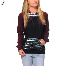 Fashion Womens Long Sleeve Hoodie Sweatshirt Jumper Tracksuit For Women Hooded Pullover Tops Blusa women hoodies sweatshirts