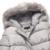 Tangnest sólida plus size longos casacos 2017 nova moda inverno da pele do falso com capuz casacos acolchoados parkas mulher solta casuais wwm1458
