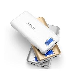 Image 2 - Véritable Pineng PN999 batterie externe 20000mAh double lampe LED usb Powerbank Bateria chargeur de batterie externe 5V chargeur Portable