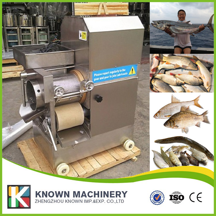 Marine fish and freshwater fish cutting separator machine with Fish feed inlet, conveyor belt and operation roller, motor portable motorized roller belt conveyor baggage checkin counters at airport security inspection machine drum motor drive roller