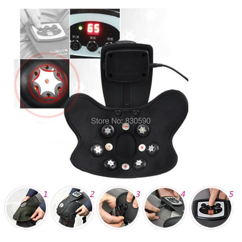 1 шт инфракрасное Отопление/магнитные/вибрации совместное уход колено физиотерапия устройства