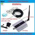 Tela de LCD GSM 850 Mhz 850 MHz Repetidor Reforço GSM 850 repetidor Celular Amplificador Repetidor de Sinal de telefone Móvel & Antena Yagi conjunto