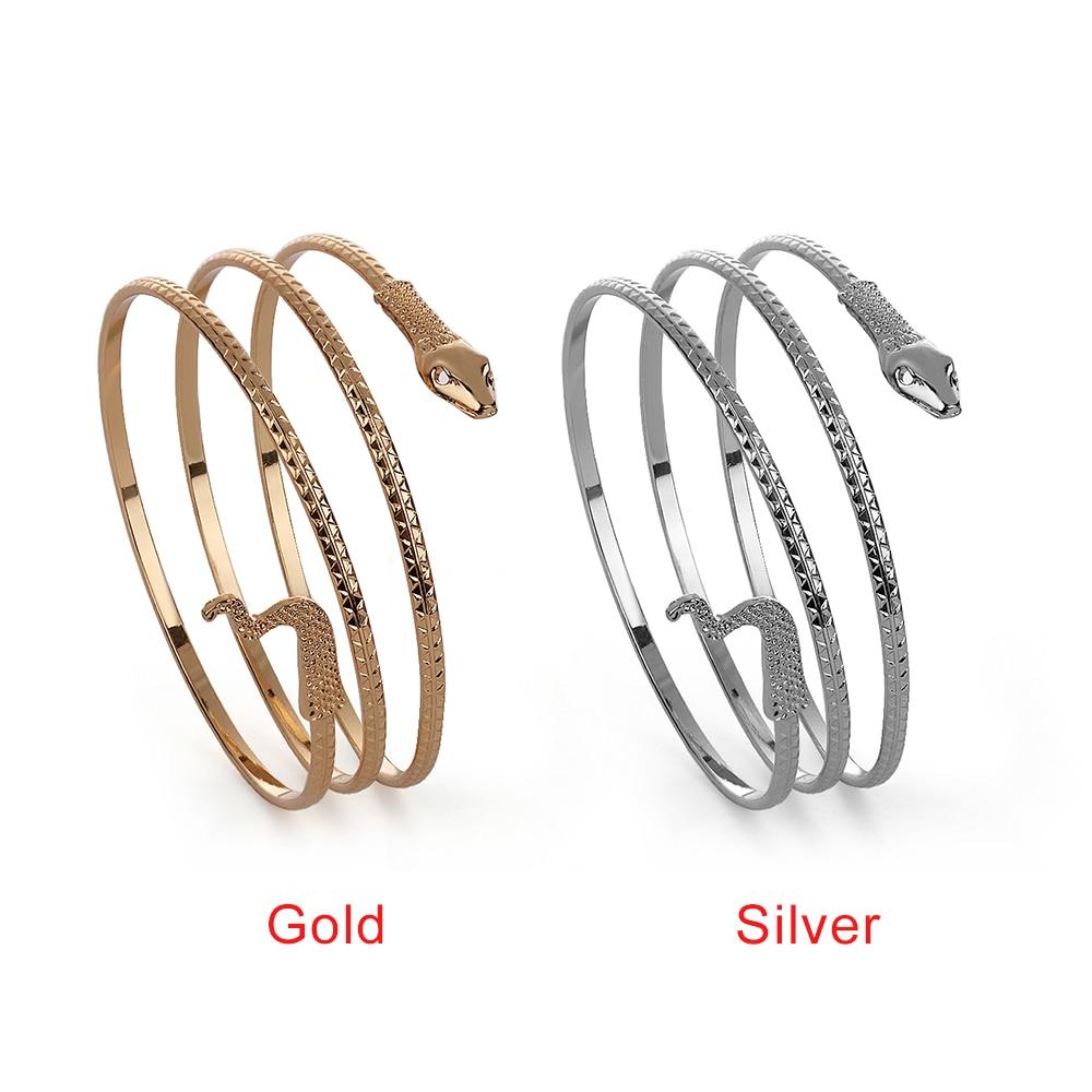 NOUMANDA Multi-Colored Cuff Bangle Stainless Steel Adjustable Bracelets Simple Trendy Open Bar Bangle Bracelets Banquet Accessories