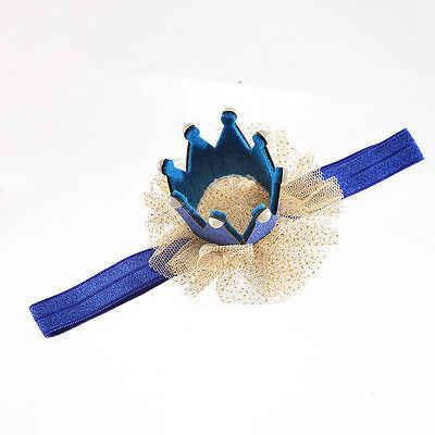 Thun Vương Miện Cho Bé Đầu Vương Miện Công Chúa Băng Đô Quấn Tóc Ngọc Trai Tiara Ren Mũ Đợi Đầu Đa Năng