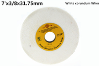 180x9 52x31 75mm White Corundum Grinding Wheel 1pcs Free Shipping High Quality White Corundum