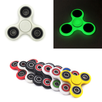 Plastic EDC Hand Spinner Fidget Toy For Autism And Antistress Tri Spinner Anti Stress 8 Kinds