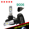 free shipping 1 pair 12V 50W H7 H11 9005 9006 Car Led Headlight 8000LM White 6000K Repalcement HID xenon hb3 hb4 Headlamp bulb
