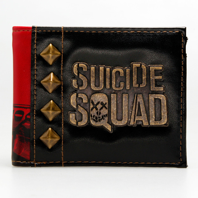 Бумажник Отряд Самоубийц эмблема