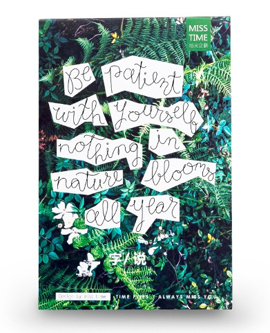 P23- Green Word Paper Postcard(1pack=30pieces)