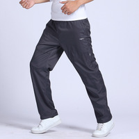 Grandwish Quick Dry Men S Exercise Pants Elastic Waist Double Layer Men Breathable Pants Quick Drying