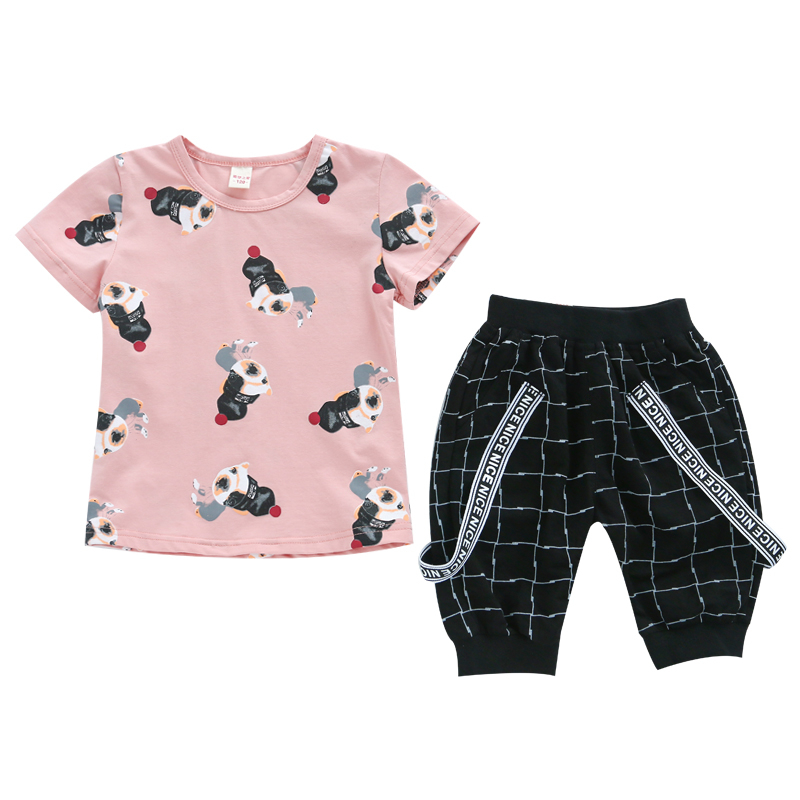 bc9652e3532 Maggie s Walker clothes for boys cartoon 100%cotton o-neck short sleeve  pullover washable