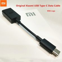 Original XIAOMI Mi F1 A2 A1 USB Type-C OTG Data Cable Support Mouse/Keyboard/U Disk For MI 6 6X 8 SE Mix 2 2s Max 3 Note 3 5X 5C(China)