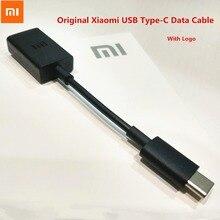 Original XIAOMI Mi F1 A2 A1 USB tipo-C Cable de datos OTG ratón/teclado/U disco para MI 6 6X8 SE mezclar 2 2 s Max 3 Nota 3 5X 5C