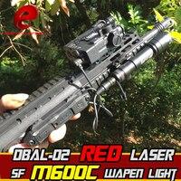 Элемент страйкбол безошибочный M600C охотничий фонарь DBAL D2 ИК Двойной лазерный Управление лазерный прицел wapens тактический фонарик для оружия