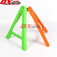 Plastic 14mm 18mm MX Motorcycle Stand Left Side Kickstand Holder For YZ YZF WR TC FC