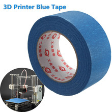 50mx50mm 3D Printer Blue Tape Masking Painters Printing Tool For Reprap 3D Printer High Temperature Resistance
