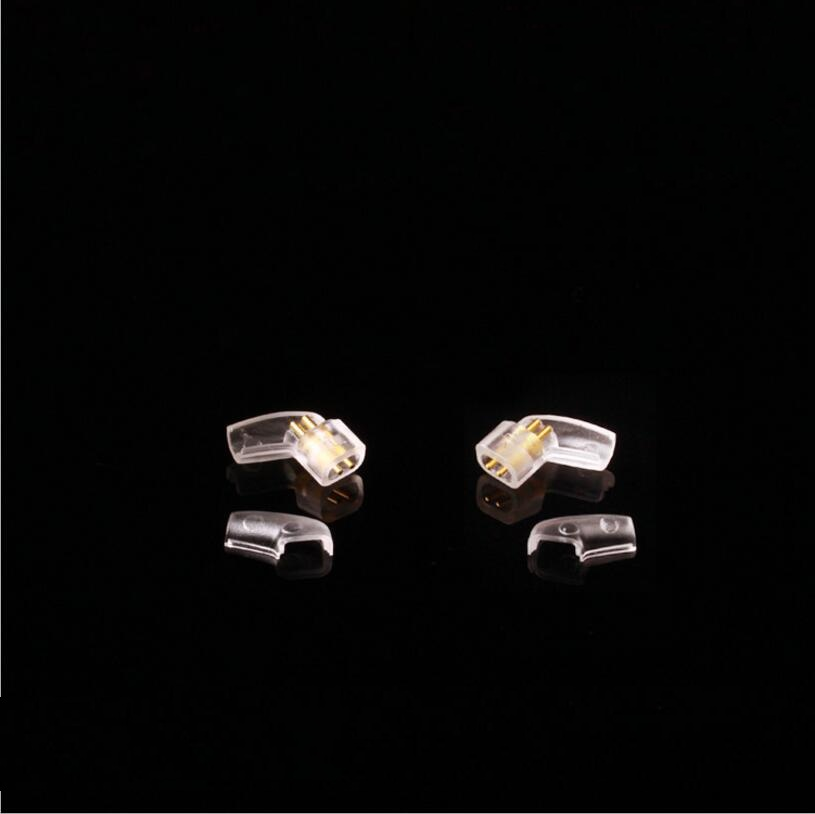 MLLSE 5Pairs Lot L Shape Earphone Plugs Headphone Pin For UM UE18 PRO UE11 UE5 QDC