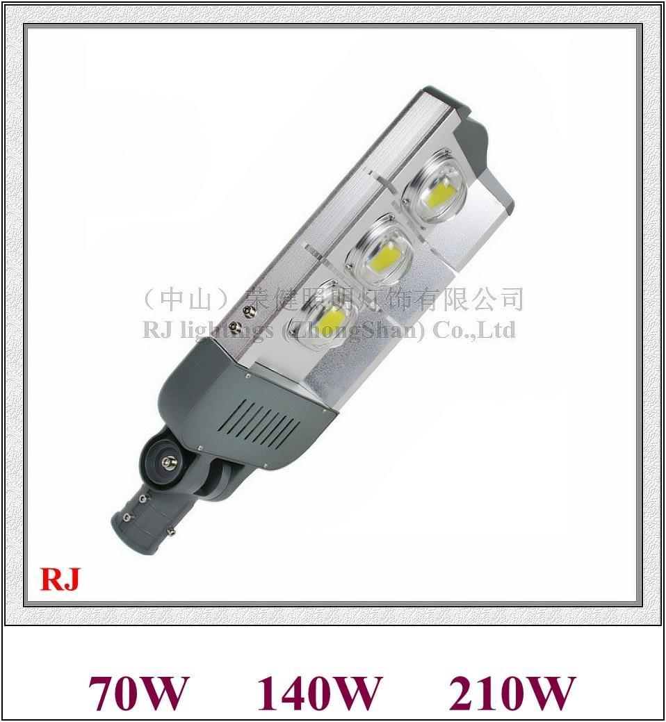 Epistar удара уличный свет лампы свет дороги IP65 Водонепроницаемый 70 Вт/140 Вт/210 Вт AC85V 265V алюминиевый 285 модуль я RJ LS H