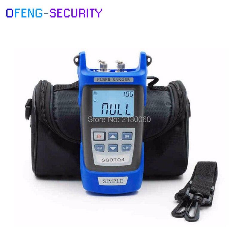 SGOT04 Handheld OTDR 60KM Fiber Find Fault Tester 1310or1550nm Fiber Breakpoint Fault Detector With VFL FC/SC