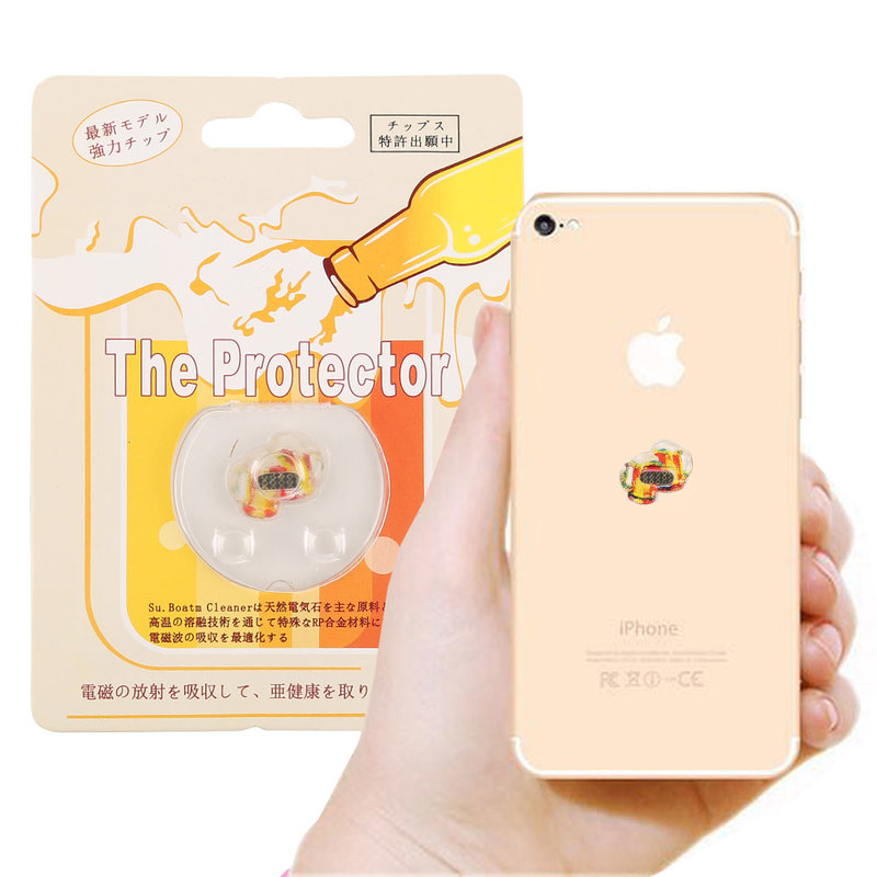 Flat Mobile Phone Computer Anti Radiation Sticker Anti Radiation Chip for Pregnant Women and Children