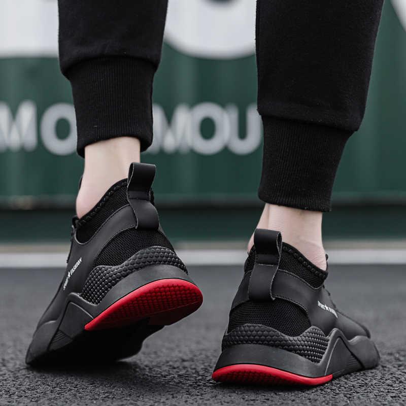 2019 neue Männer Populäre Bequeme Flache Schuhe Männlichen Atmungsaktive Outdoor-Walking Casual Schuhe Erwachsene Mode Leichte Mesh Turnschuhe