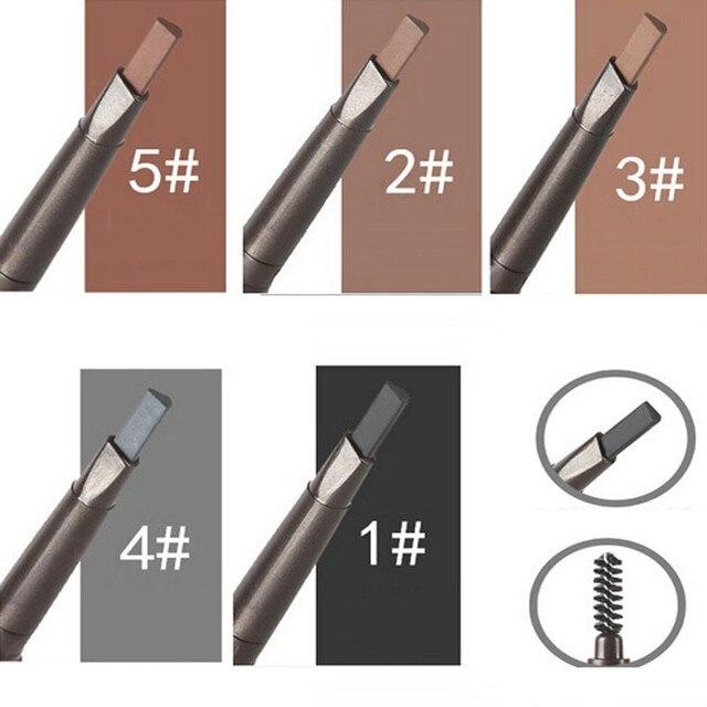 Impermeable lápiz de cejas Lápiz Delineador de cejas maquillaje cosmético herramienta de belleza duradera hermosa