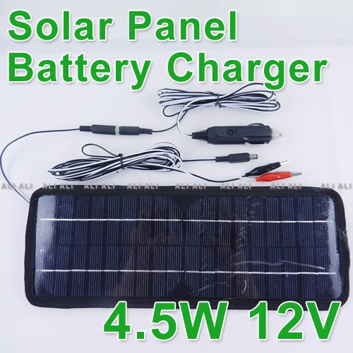 Multi Purpose Solar Panel Battery Charger 12V 4 5W Car RV