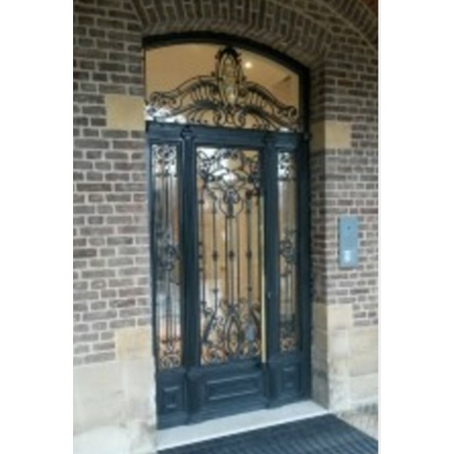 Steel Armoured Doors Stainless Screen Italian Security