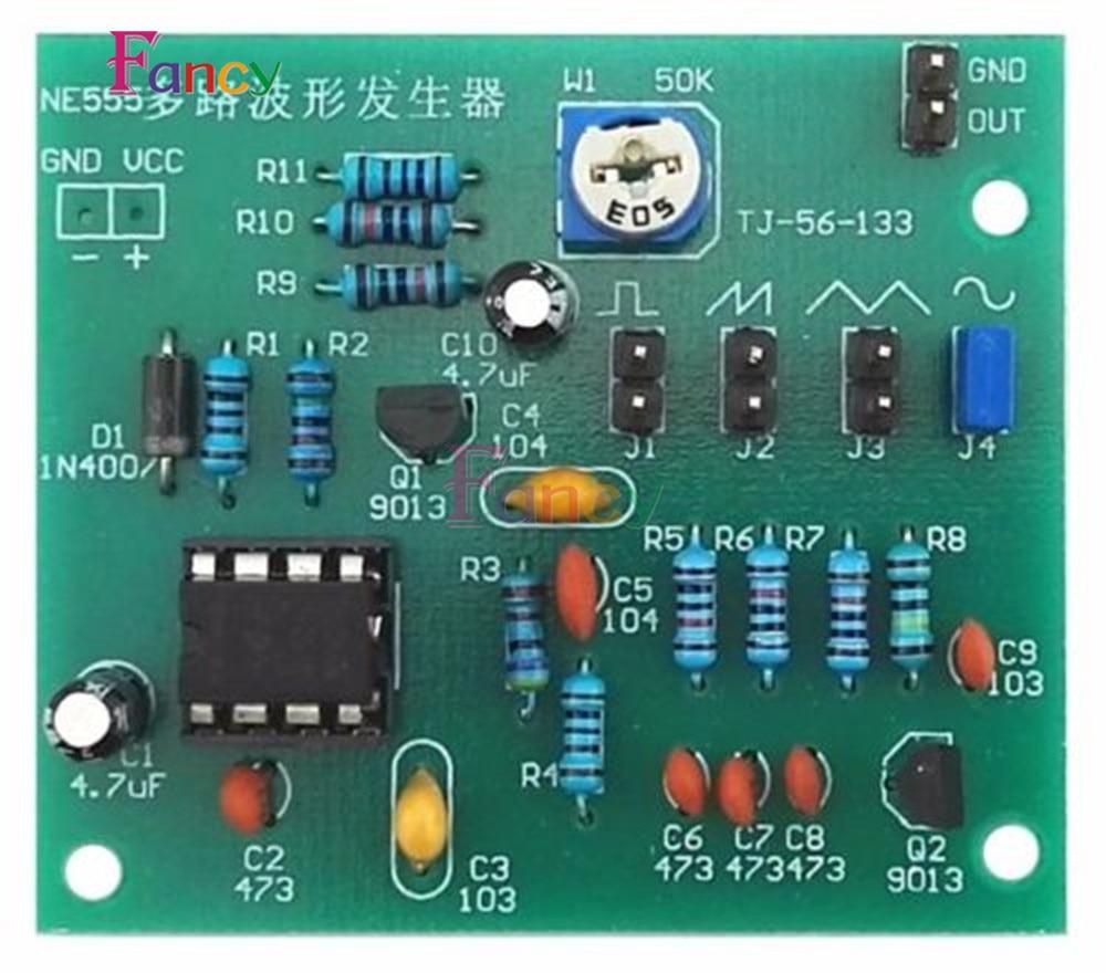 Top 10 Generator Interlock Kits Triangle Squarewave Circuit Ne555 Diy Multi Channel Waveform Module Sine Square Wave
