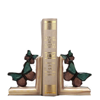 Decorative Book Shelves | Vintage Butterfly Book Stand Ornament Creative American Resin Book Shelf Figurines Crafts Home Office Decoration Gift R1620