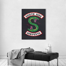 AAVV Wall Art Pictures Animal Canvas Paintings Riverdale Southside Serpents TV Play Posters Prints Home Decor Dropship No Frame(China)