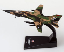 6pcs/lot Wholesale Brand New AMER 1/144 Scale USA F-111 Aardvark Fighter Diecast Metal Plane Model Toy(China)