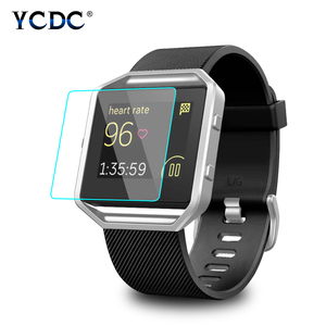 9H Hardness Arc 2.5D Tempered Glass Screen Protector 0.26mm For Fitbit Blaze