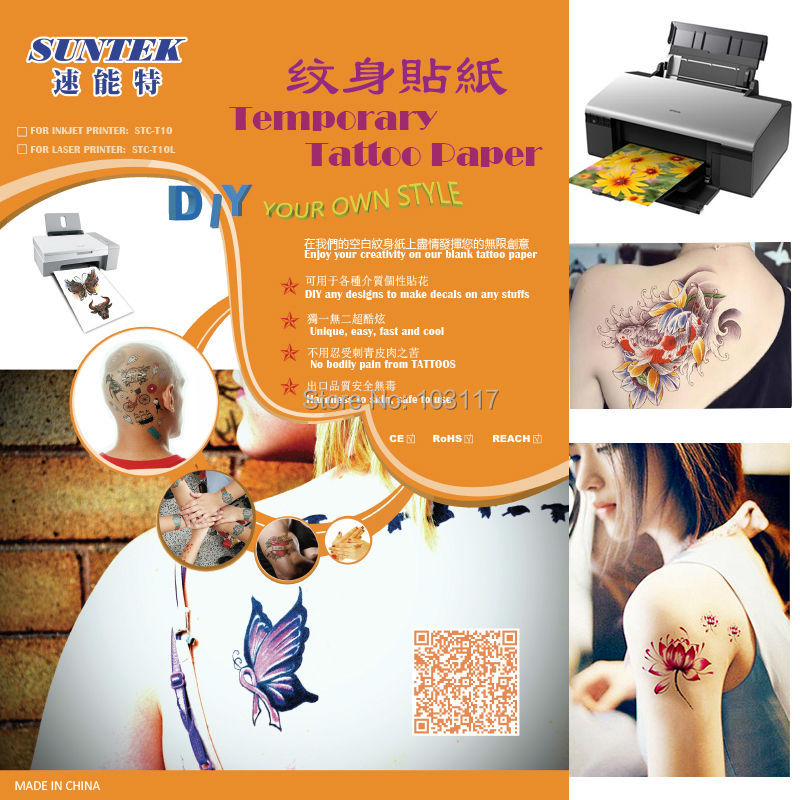 graphic regarding Printable Tattoo Paper known as US $866.45 A4 Carbon Printable Short term Tattoo Move Stencil Paper With Laser Printer For Printing Decal Paper-within Portray Paper against Place of work