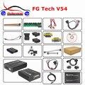 2016 Super A + Qualidade Auto FG Tech Galletto 4 ECU Flasher ECU Chip Tunning V54 FGTech V54 BDM TriCore OBD-Função Fast Shipping