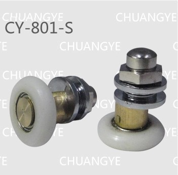 Permalink to shower door wheel Bathroom accessories glass hardware shower room copper pulley bearings