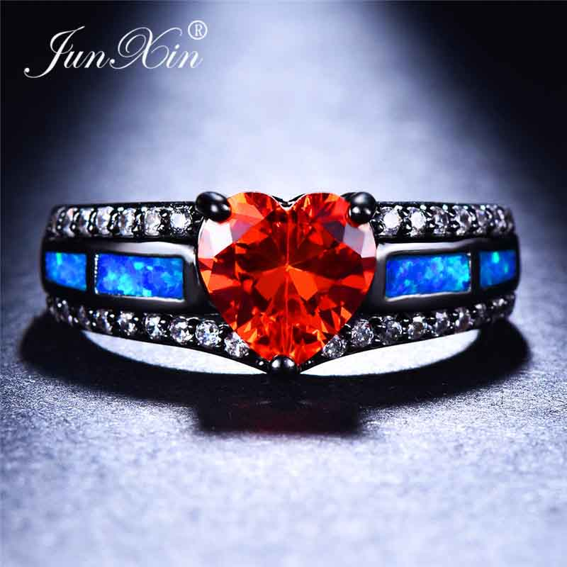 Blue Opal Red