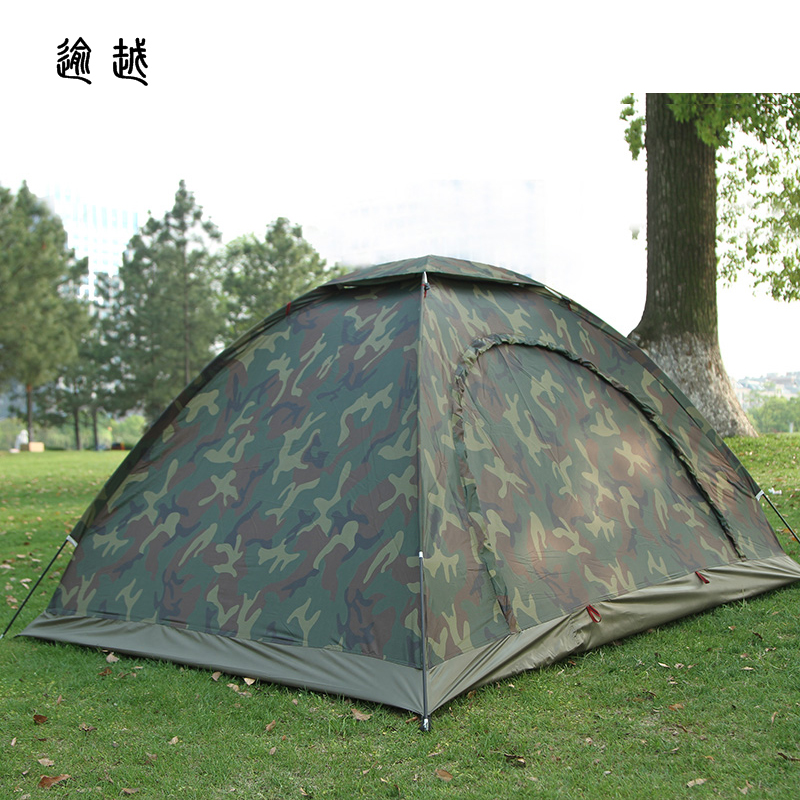 Cheap price double resident tent for outdoor mountain camouflage tent no-see-um mesh for hiking hunting camping car tent 0