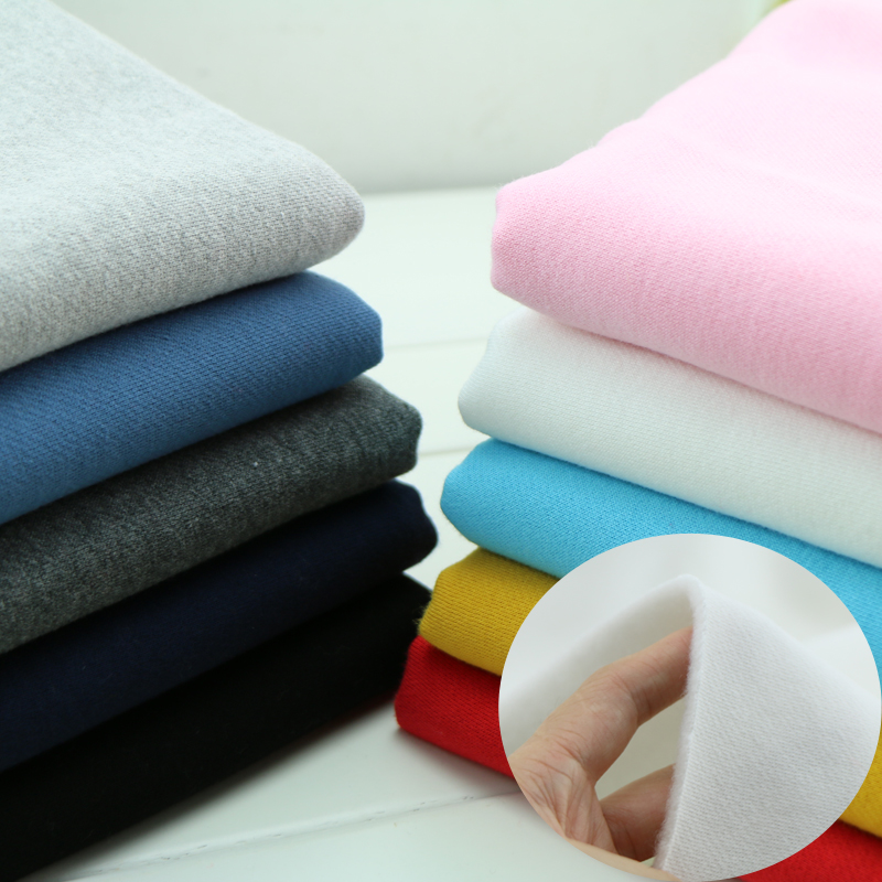 50 185cm thick autumn and winter cotton fleece fabric by half meter DIY sewing upholstery fashoin