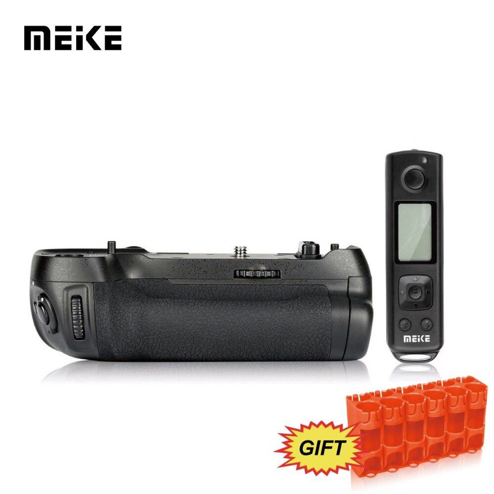 Meke meike MK-D850 pro vertical tiro pacote de energia aperto da bateria com 2.4g hz controle remoto sem fio para nikon d850 câmera