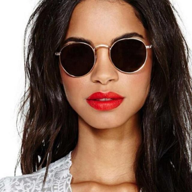 2018 Round Sunglasses Women Brand Designer Sun Glasses For Women Candies Lens Oculos De Sol Gafas Retro Glasses UV400
