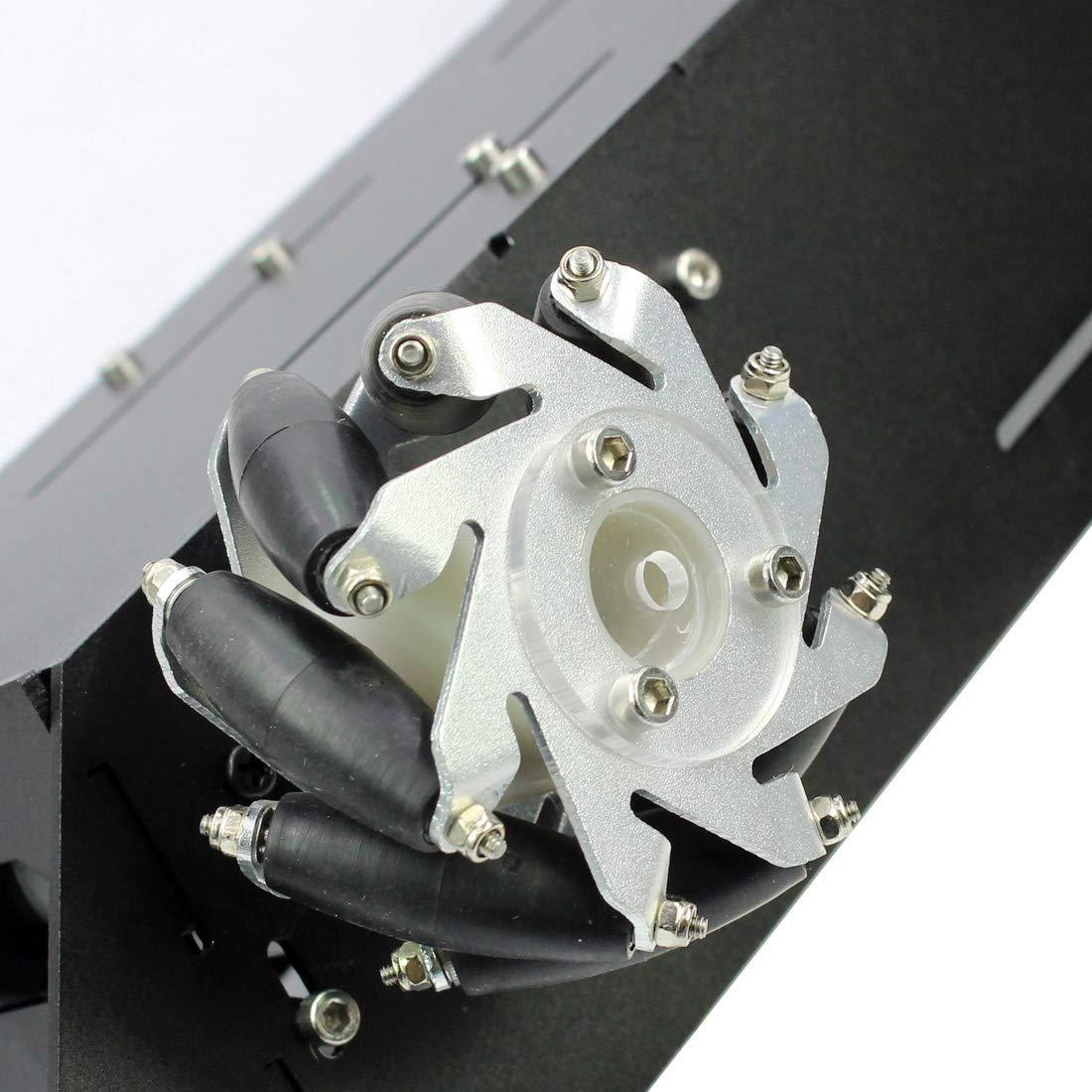 4WD RC châssis de voiture intelligente pour plate-forme Arduino avec moteur 12 V bricolage 4 roues Robot - 6