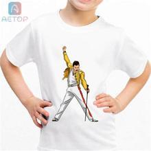 3e92443819641 Nuevo FREDDIE MERCURY lww20 Reino Unido camiseta de los niños de verano de  bebé lindo ropa